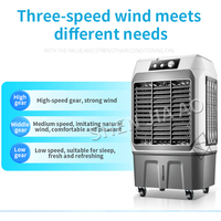 Smart air conditioning fan/Cooling fan home fan remote control air fan water air conditioning evaporative water cooling