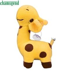 4 Color Cute Giraffe Plush Toy Dear Soft Plush Toy Animal Dolls Baby Kid Birthday Party Gift Quality deer plush toys bed