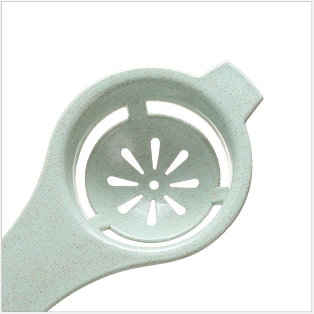 White Yolk Screening Plastic Egg Separator Kitchen Accessories for Chef