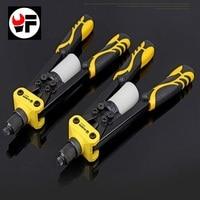 Free Shipping 13 Inch New Blind Rivet Nut Guns Hand Tool Rivets Drill Adapter Screw Gun