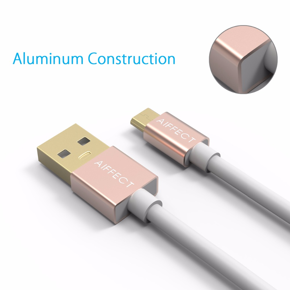 AIFFECT Colorful Micro USB Cable Fast Charging Cable 1m 1 5m Mobile Phone for Android HTC Samsung LG MI Huawei in Mobile Phone Cables from Cellphones Telecommunications