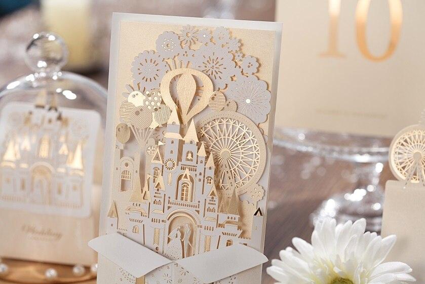 comprar wishmade para imprimir gratis elegante amor castillo blanco marfil de oro tarjetas de de boda tarjetas con sobres laser with tarjetas de boda