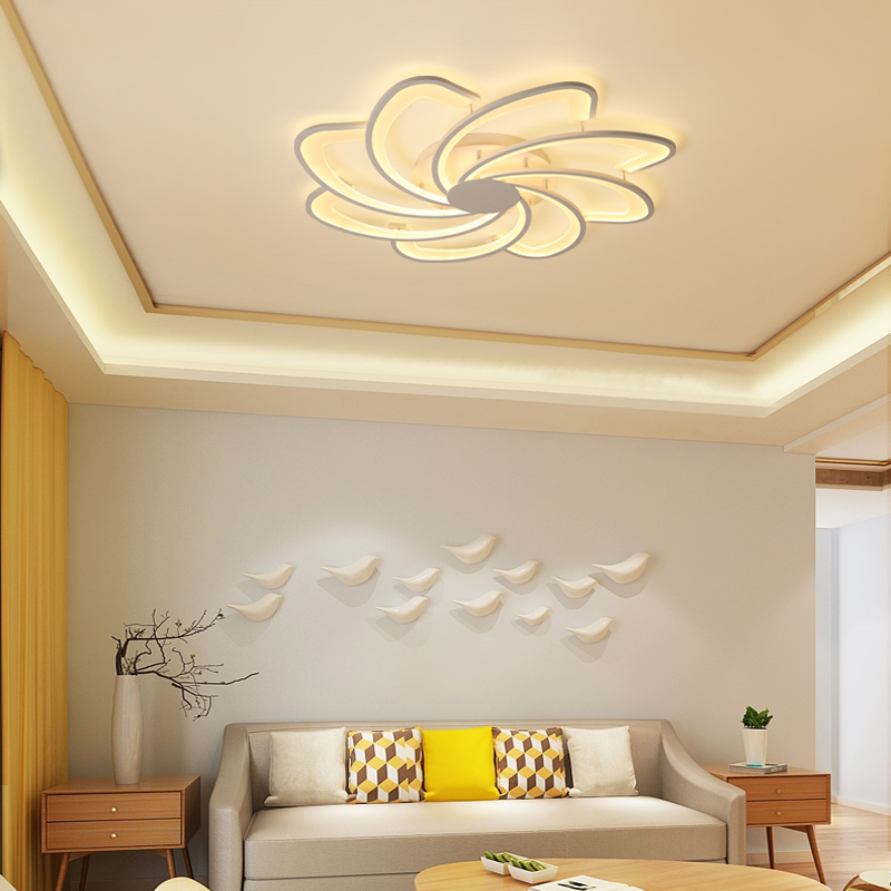 Modern aluminum LED lamparas de techo Indoor lighting Ceiling lamp Surface mounted ceiling lights Simple fashion lamps
