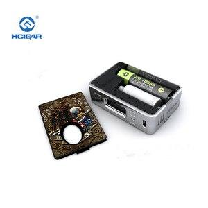 Image 3 - מקורי סוללה פנל כיסוי עבור Hcigar VTinbox V3 קדמי + חזור החלפת כיסוי עבור BF תיבת Mod אלקטרוני סיגריה