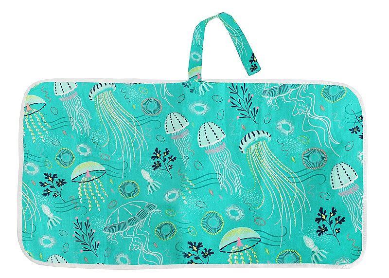 Новорожденных Складной Водонепроницаемый пеленальный коврик пеленки портативный Детский пеленки Чехол коврик чистая ручная Складная пеленка сумка игровой коврик - Цвет: CPD044