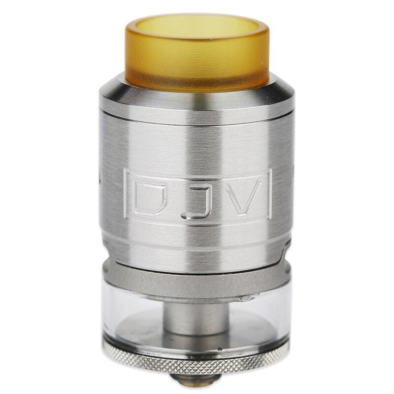 100% Original DEJAVU RDTA 2ml Capacity With Dual Coils Building & Leak-Proof Design E-cigarette Tank DJV Atomizer Vape Vs Zeus X