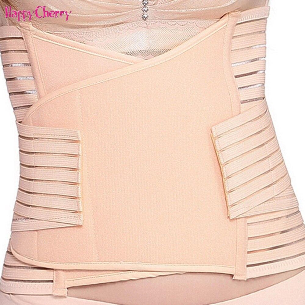 Happy Cherry Binder Belly Waist Slimming Shaper Postpartum