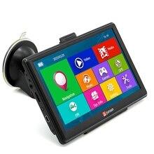 Pantalla Capacitiva de 7 pulgadas de Coches de Navegación GPS WinCE 6.0 Navegador GPS Del Coche de Navegación Universal Multi-media Player con el Envío mapas