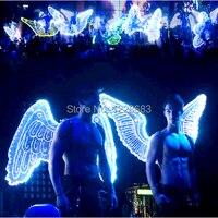 Новое поступление 9 видов стилей высокое качество большой свет костюм крылья свет крылья Для женщин Для мужчин привело крылья