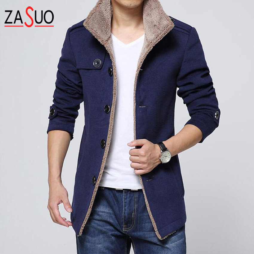 Mens Wool Dress Coats Promotion-Shop for Promotional Mens Wool ...