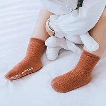 Новинка; 3 пары; мягкие носки в рубчик для новорожденных; сезон весна-осень; носки для малышей; хлопковые носки для малышей; одежда для малышей; аксессуары