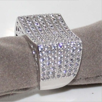 Victoria Wieck Shiney Hot Selling Full Of Pave 3A Cubic Zirconia Stones Luxury Women Wedding Engagement