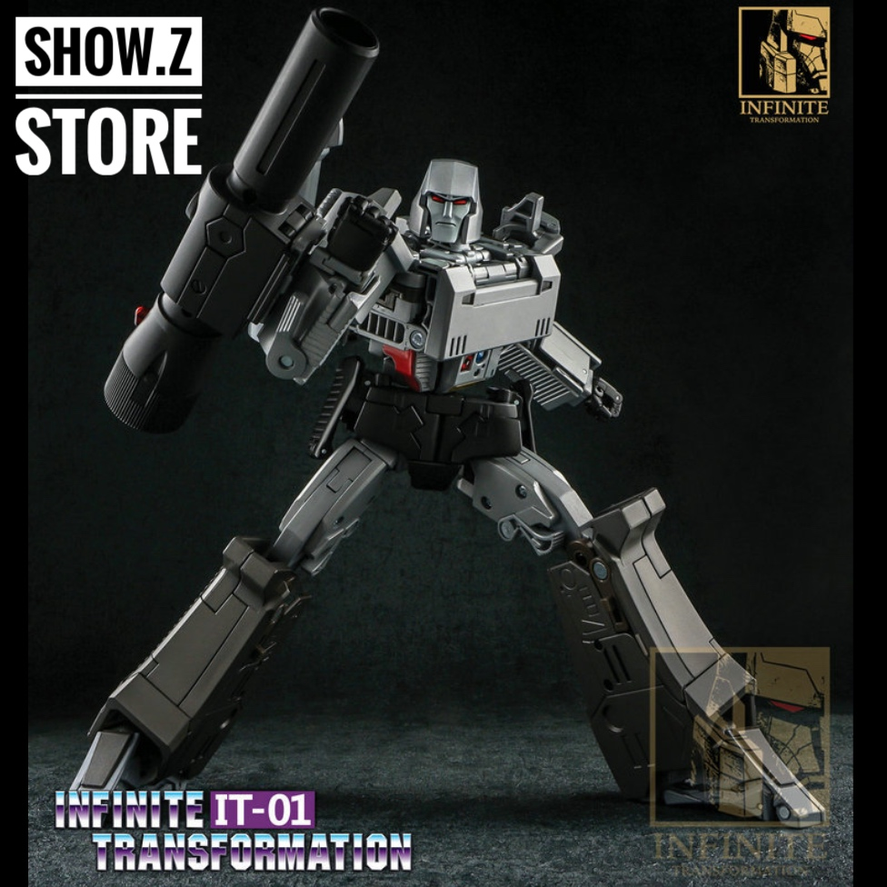 [Show.Z Store] Infinite Transformation IT01 Mightron MP36 MP-36 Transformation Action Figure цены