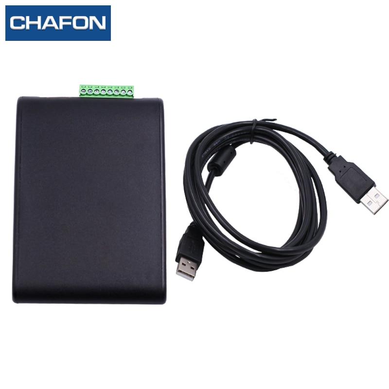 CHAFON uhf 1 m milieu de gamme lecteur rfid écrivain avec usb interface fournir sdk pour la gestion de la logistique