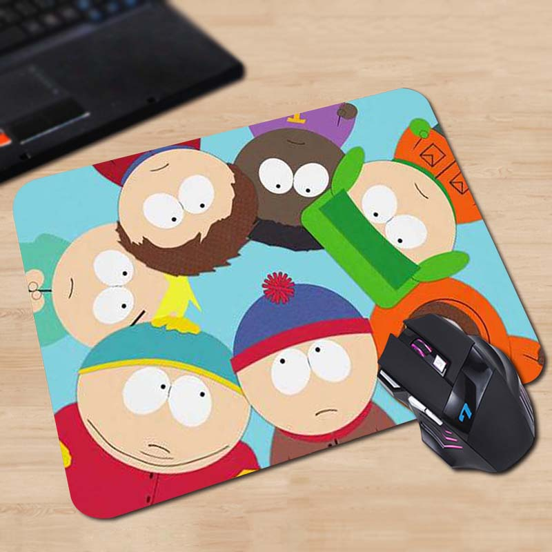 Babaite Round South Park Mice Mat of own Design 180x220x2mm 250x290x2mm Mat цена и фото