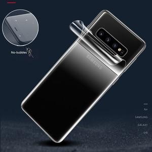 Image 5 - CHYI 3D kavisli Film Samsung A50 a30 Galaxy S10 5G S10 + S10E S8 S8 + S9 S9 + Not 9 10 artı ekran koruyucu değil temperli cam
