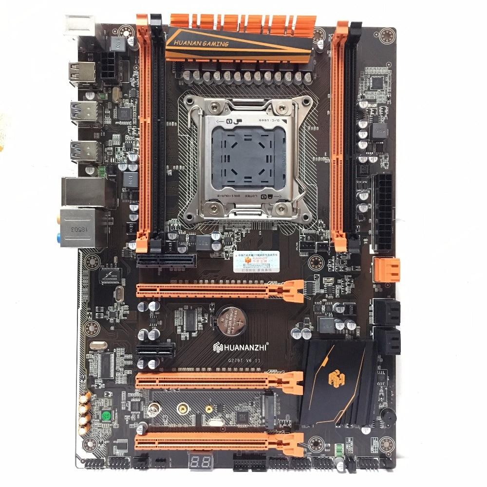 HUANANZHI deluxe X79 LGA 2011 DDR3 ПК Материнские платы компьютерные материнские платы подходит для сервера Оперативная Память ОЗУ компьютера M.2 SSD