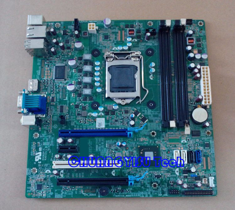 US $59 9 |Free shipping CHUANGYISU for original OPX 990 SMT  motherboard,6D7TR 06D7TR, VNP2H 0VNP2H S1155,Q67,DDR3,work perfect-in  Motherboards from