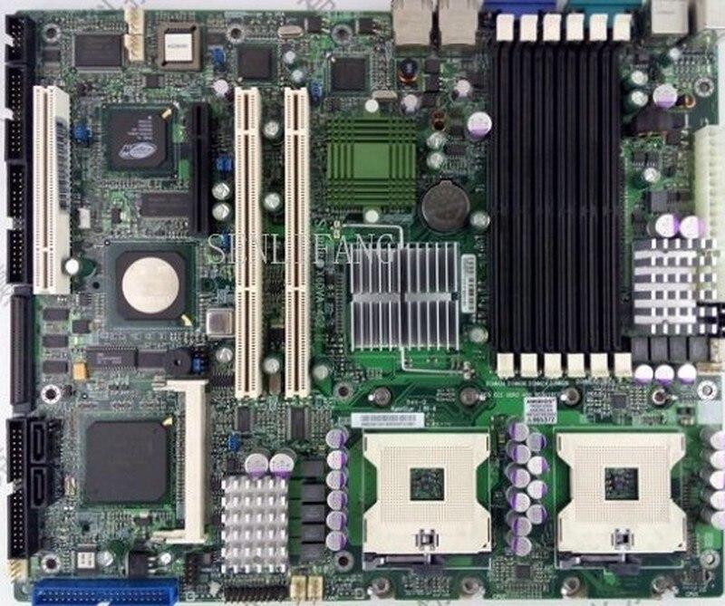 Free Shipping X6DVA-4G2 E7320 Dual 604 Comes With SCSI SATA IDE 800 FSB DDR2