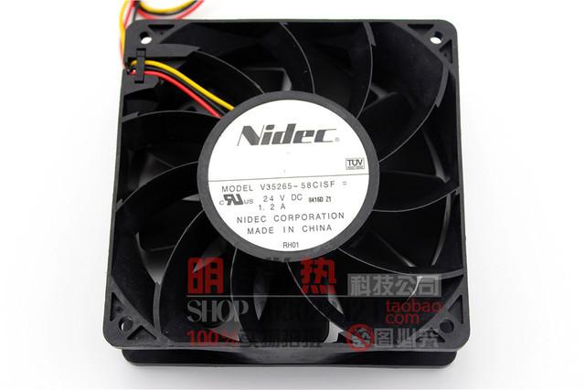 Original 12038 1.2A V35265-58ClSF 12 CM/24 V cm fã inversor