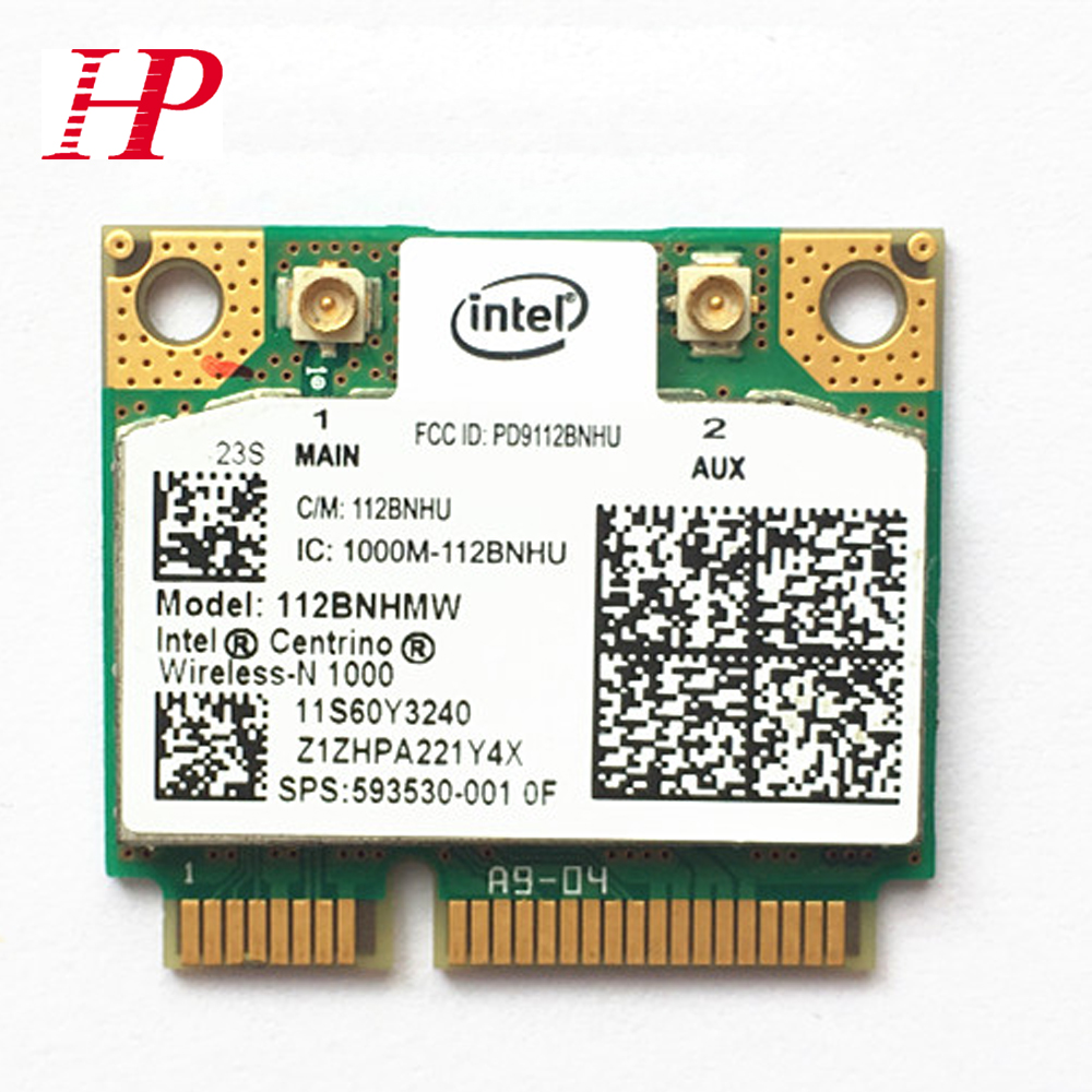 For Lenovo E420 SL410 T420 T430 T510 Y460 Y470 Wifi Wireless Bluetooth Network Card For INTEL WIFI LINK1000 112BNHMW 300M