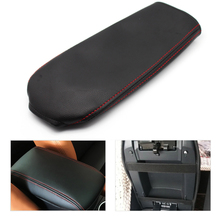 цена на Car Center Console Armrest Box Cover DIY Microfiber Leather Protection Pad For VW Passat 2010 2011 2012 2013 2014 2015
