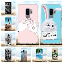 For Samsung Galaxy S9 Plus Cover TPU G965F G965U G965W Case Dog Patterned Shell