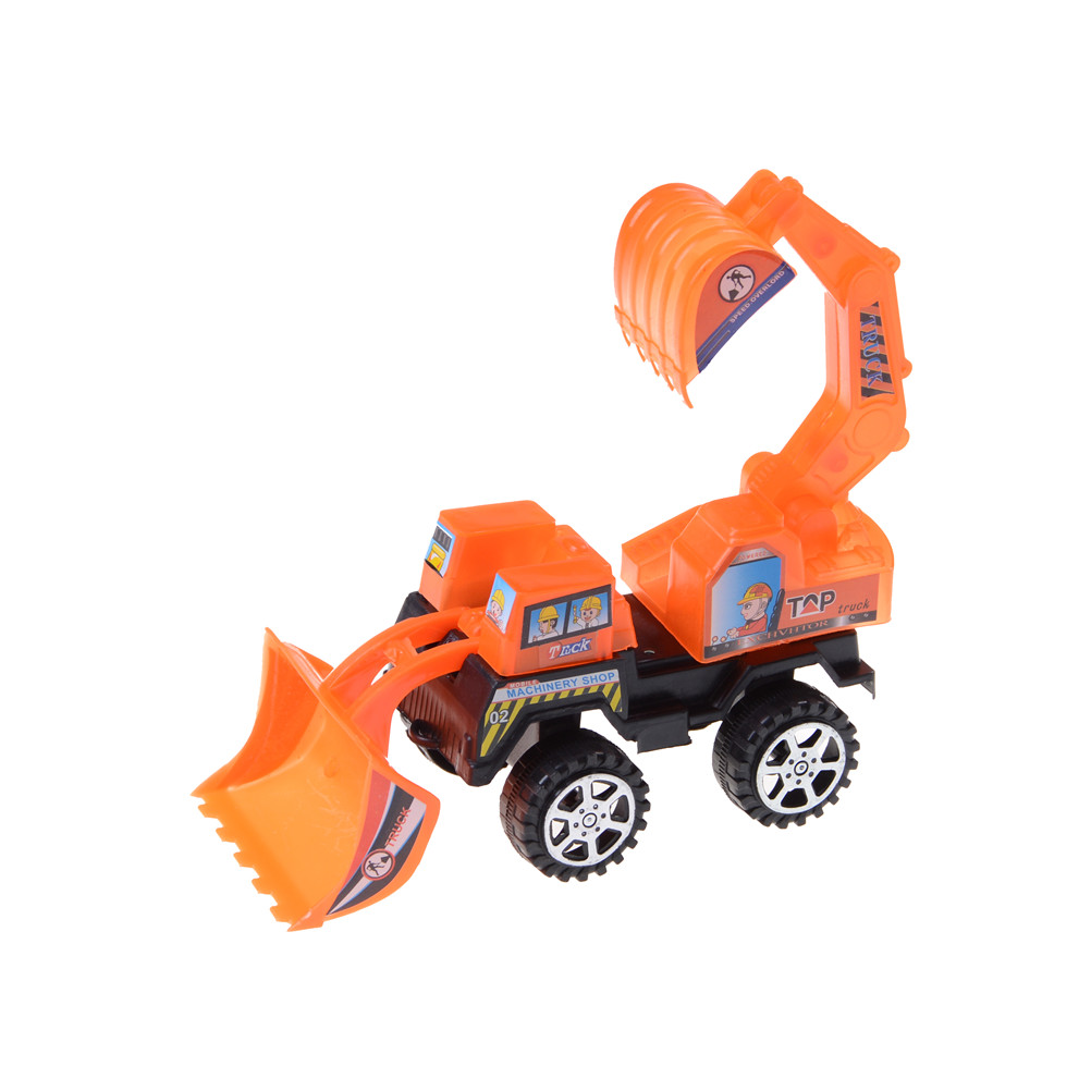 1pc Plastic Toy Vehicles Bulldozer Truck Engineering Car Building Blocks Brick Toy Model Figure Diecast Model For Kid Gift Toys Good For Antipyretic And Throat Soother Toys & Hobbies