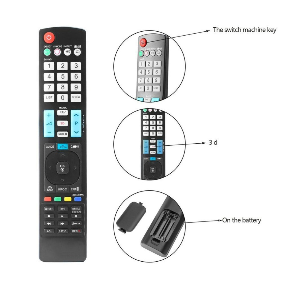 Universal 433 MHz Remote Control For LG Smart 3D LED LCD HD TV High Quality Perfect Replacement Controller For LG Free Shipping
