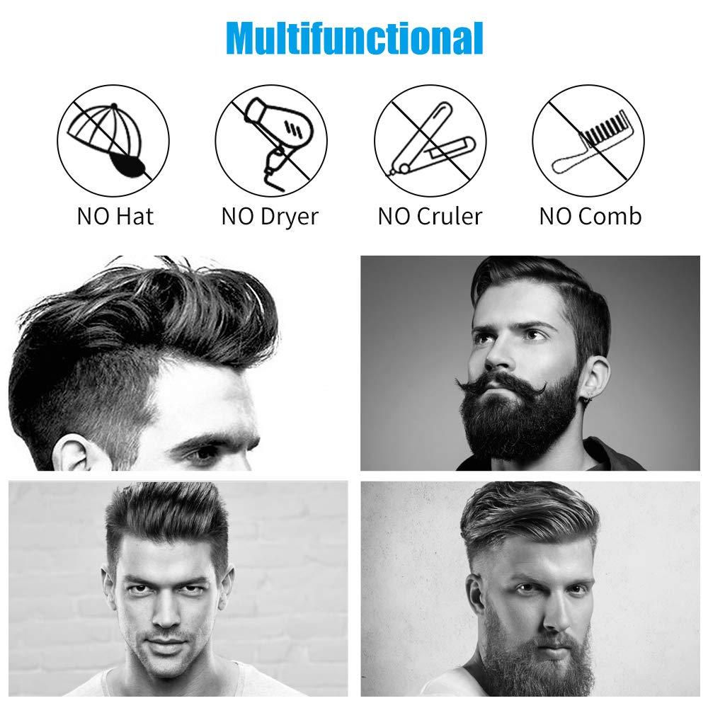 de barba encaracolado cabelo alisamento ferro anti-estático