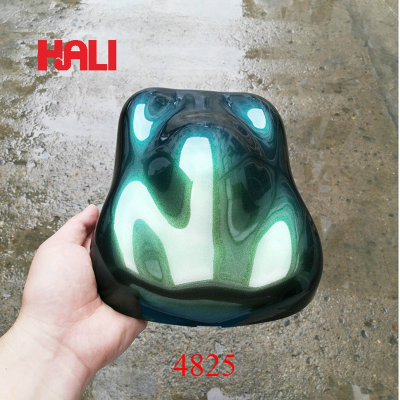 high quality super chameleon pigment color change pearl pigment powder 1 lot 100gram 4825 blue green