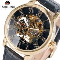 Luxury Brand Forsining Wrist Watch Men S Dress Watches Roman Number Mechanical Wristwatch Gift W153801