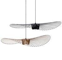 Nordic minimalist VERTIGO PENDANT LAMP indoor use stun light straw hat light