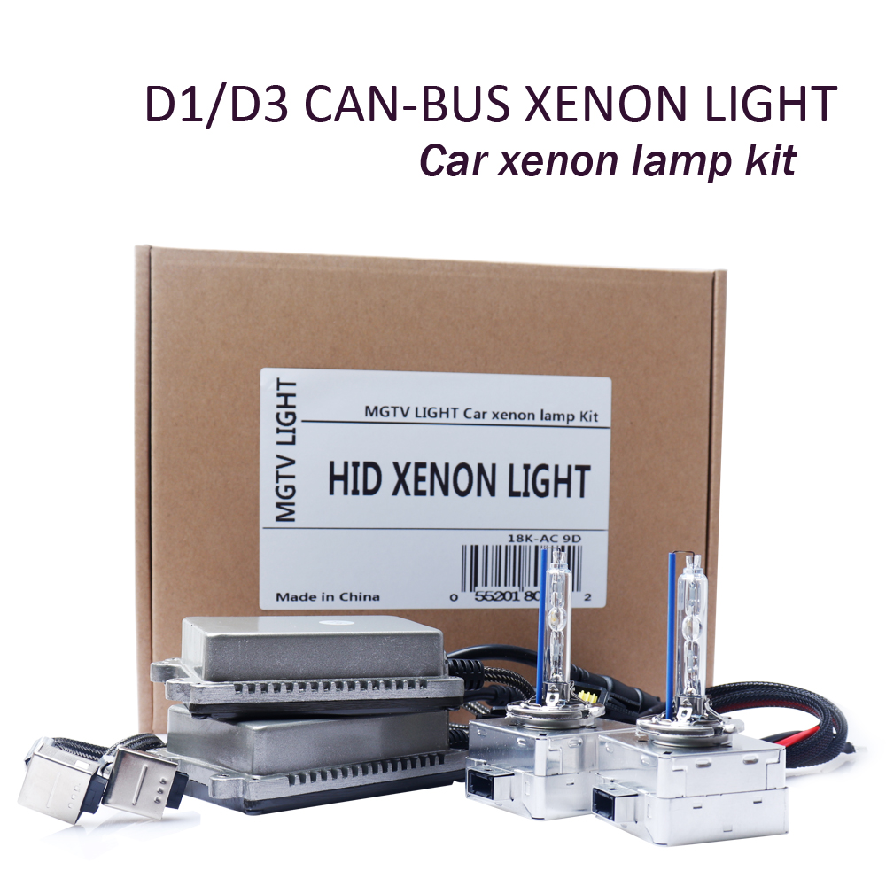 Mise à niveau de voiture démarrage rapide lumineux DC 35 W D1S D1R D3S D3R HID xénon Kit Canbus numérique mince Ballast réacteur bloc ampoules d'allumage