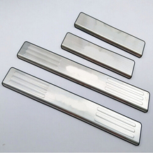 Welcome Pedal For Mazda BT-50 bt50 2012 Scuff Plates Stainless Steel Door Sill Strip Auto Car Styling Stickers Accessories 4pcs