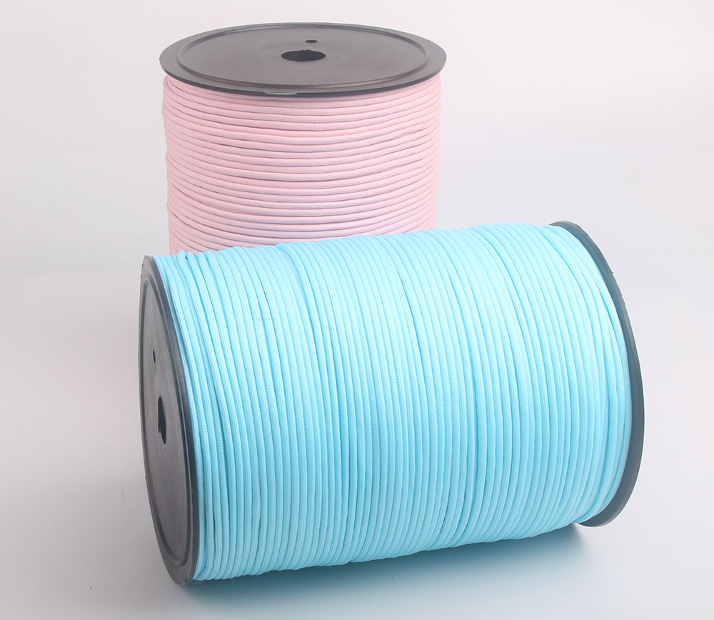 6 pieces lot 1000FT Spool Luminous Paracord 4mm 550 7 Strands Rope Parachute Cord Lanyard Glow
