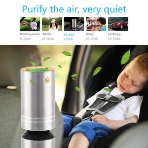 Image 4 - FA 808A تنقية الهواء المرطب سيارة أنيون الحرة الفورمالديهايد PM2.5 مرطب للعلاج بالروائح سيارة تنقية الهواء المرطب