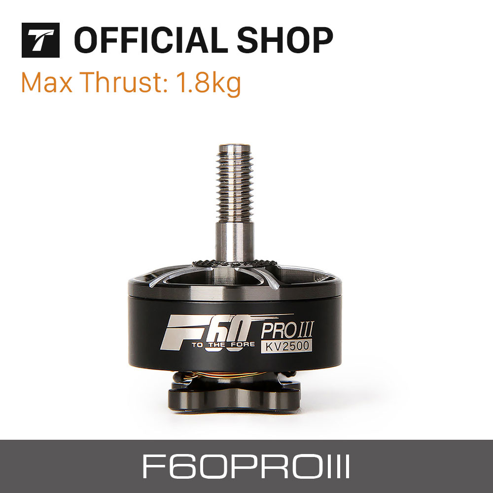 T-motor F60 PRO III KV1750 KV2500 2700KV V3 Grey Brushless Motor For race fpv drone quadcopter kit