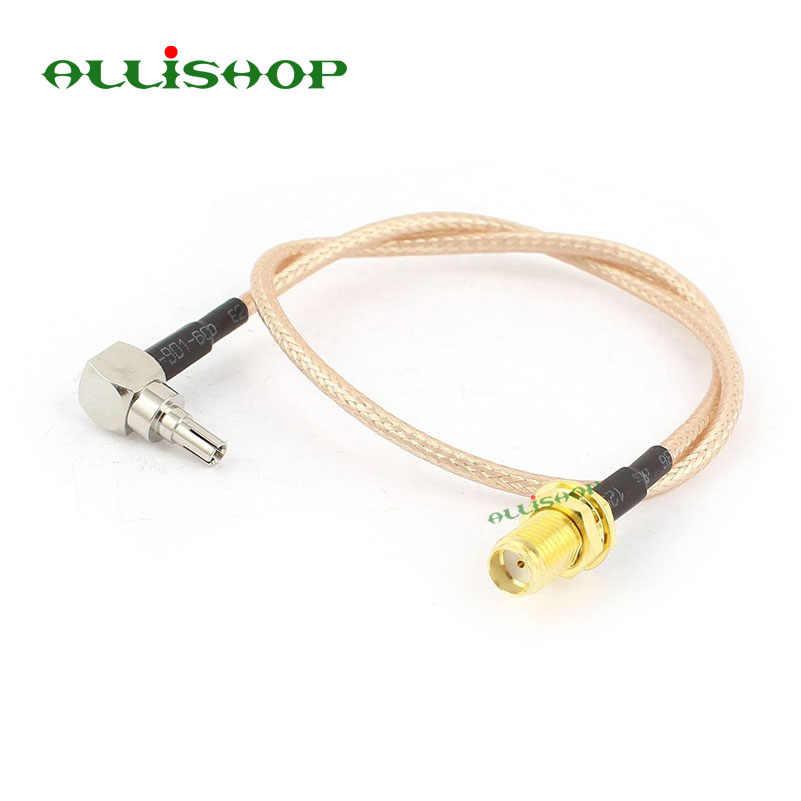 ALLiSHOP 0-6 ГГц SMA гнездо jack разъем К crc9 адаптер pigtail RG316 кабель для HUAWEI PCI wifi маршрутизатор 3g USB модем