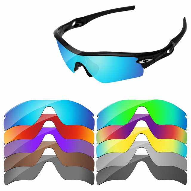1995e7da1ed PapaViva POLARIZED Replacement Lenses for Authentic Radar Path Sunglasses  100% UVA   UVB Protection -