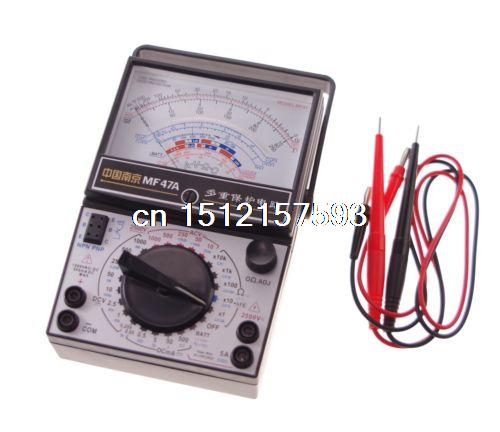 Volt Ohm Amp AC DC Battery Tester Meter Gauge Analog Multimeter x 1 mint green casual sleeveless hooded top