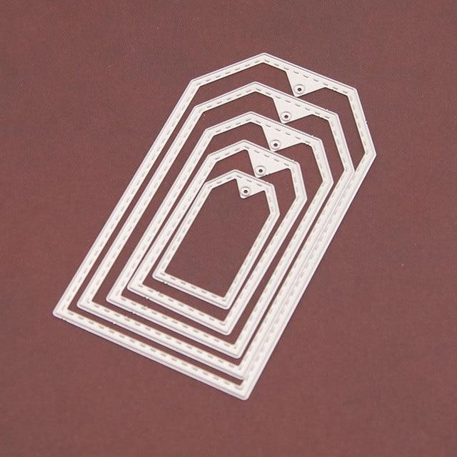 NCraft de corte de Metal muere N102 papel de Scrapbook decoración artesanal muere scrapbooking marco