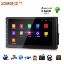 Universale di Navigazione di GPS WiFi Auto MP5 Player per VW Toyota Android USB Audio Radio Lettori Multimediali Bluetooth FM AM TPMS DVR