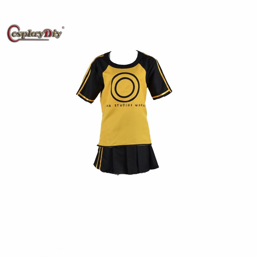Cosplaydiy Game Digimon Story Cyber Sleuth Ami Aiba Adult Women Halloween Carnival Cosplay Costume Custom Made J5 image