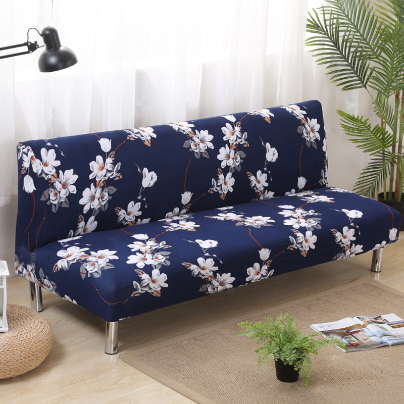 Folding Sofa Covers Elastic Without Armrest Sofa Covers