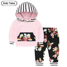 Baby Boys Girls Clothes Set Suits Warm Tops Hoodie T shirt Leggings Pants Cute Animals Kids