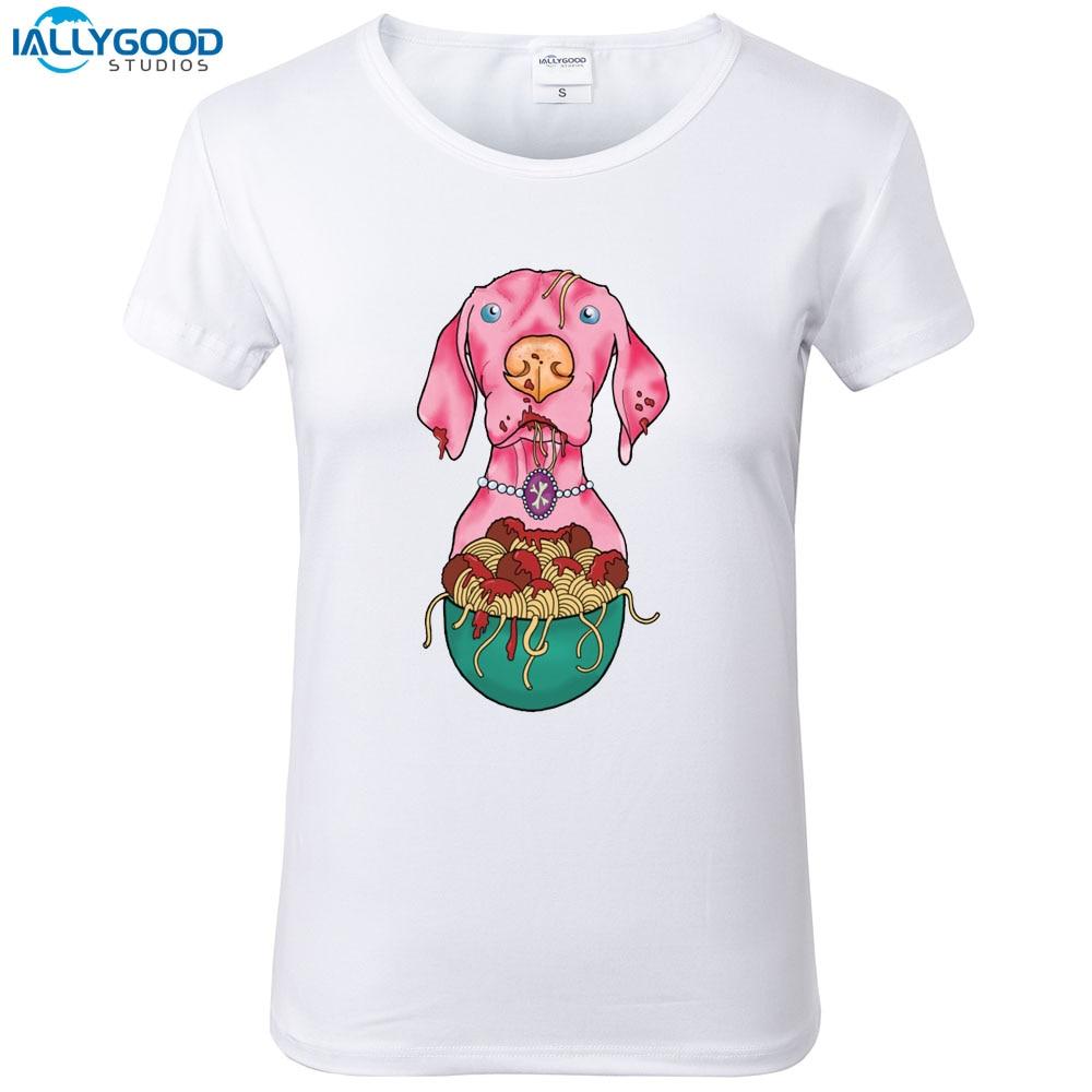 Summer Funny Greyhound Spaghetti T-Shirt Women Cool Printed Pink Dog T shirt Soft Short Sleeve Women White Tops S1600