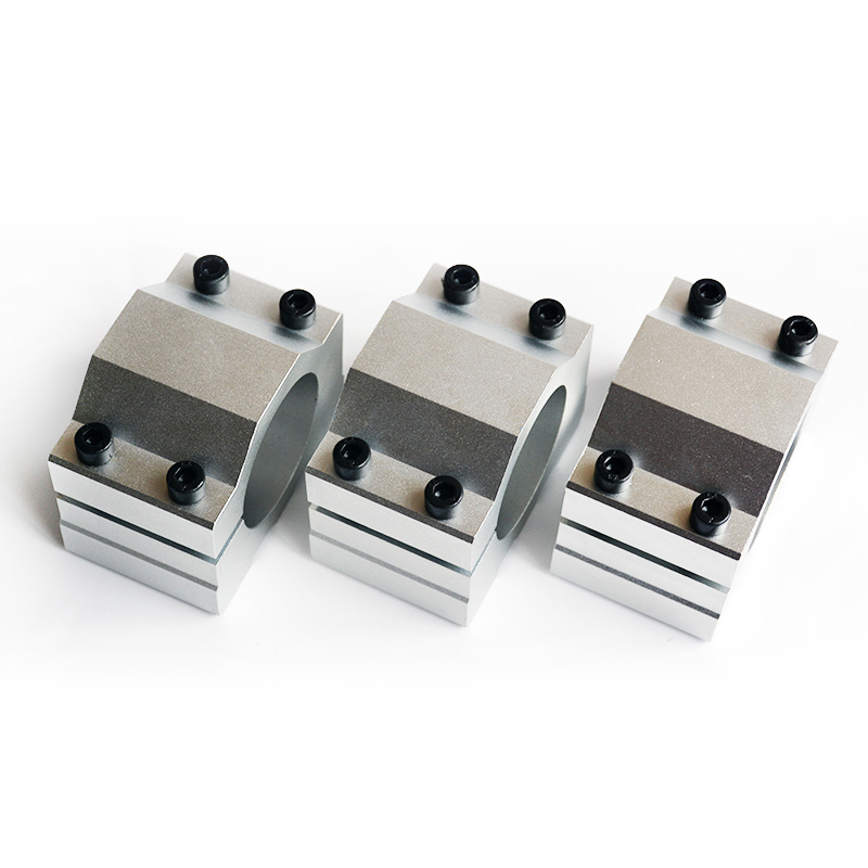 1pcs CNC Spindle Clamp 52mm 65mm Aluminum Motor Bracket CNC Carving Machine Clamp Motor Holder