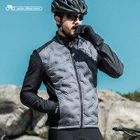 Santic 2018 новые зимние теплые велосипедные куртки длинными трикотаж ветрозащитная легкая велосипедная одежда мужская M8C01094