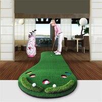 PGM коврик для гольфа Гольф тренировочная клюшка зеленый клюшки ковер большие ноги гольф мат для тренировок покрытие из искусственной травы
